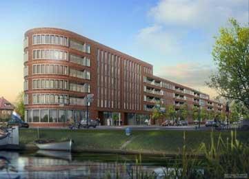 Appartementencomplex Breda Vooruit