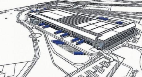 Distributie Centrum Winkelketen Lidl Southampton