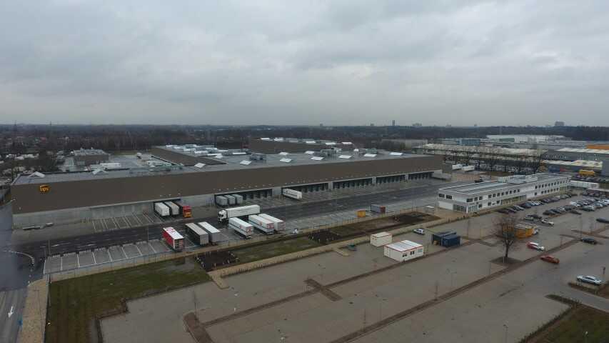 Nieuwbouw Distributiecentrum UPS te Eindhoven