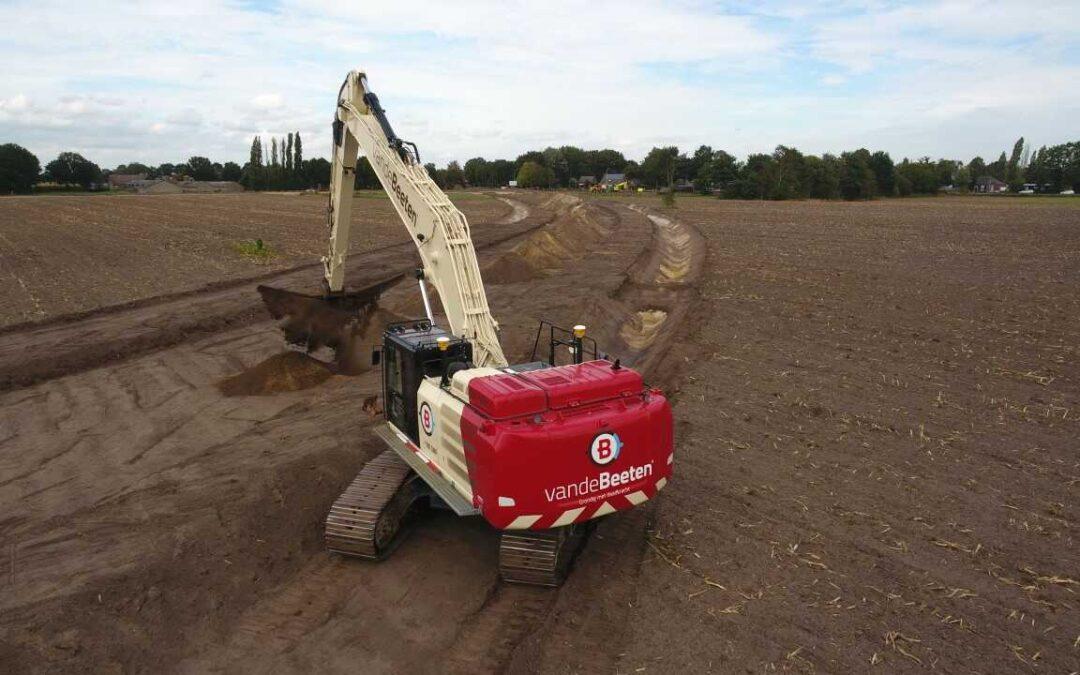 Start aanleg N605, Boekel